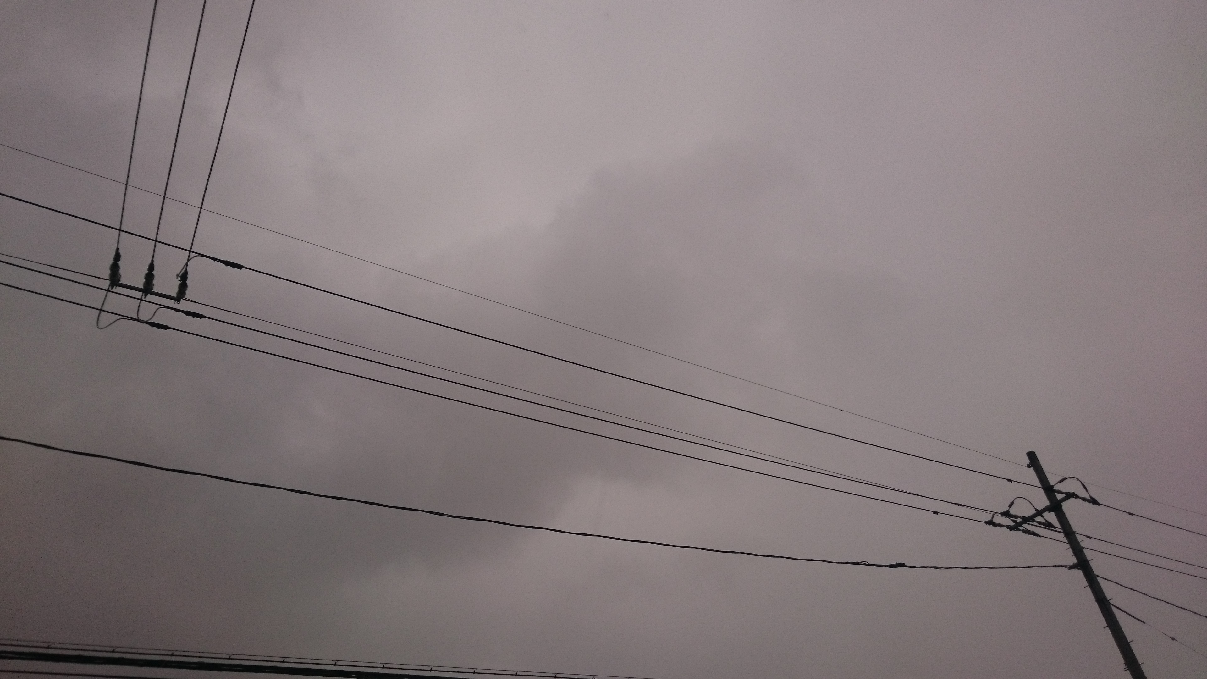 倉敷市 雨