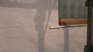 岡山県倉敷市S様邸外壁上塗り