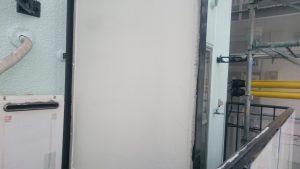 岡山市某学生寮パーテーション中塗り