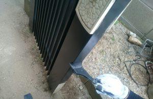 ジー・ペイント㈱門扉 塗装