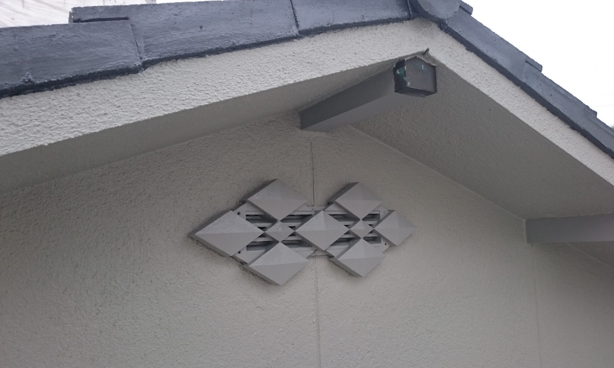 岡山市中区H様邸外壁塗装完成