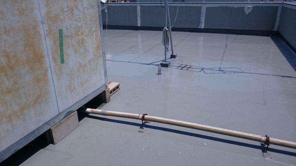 市北区ビジネスホテル 屋上防水工事完成
