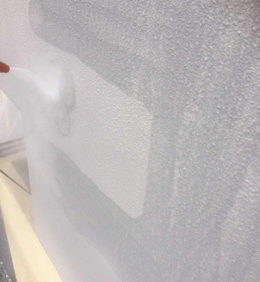 岡山市北区某マンション 高圧洗浄