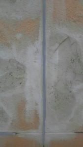岡山市内某ビジネスホテル塗装現場 剥離、補修作業