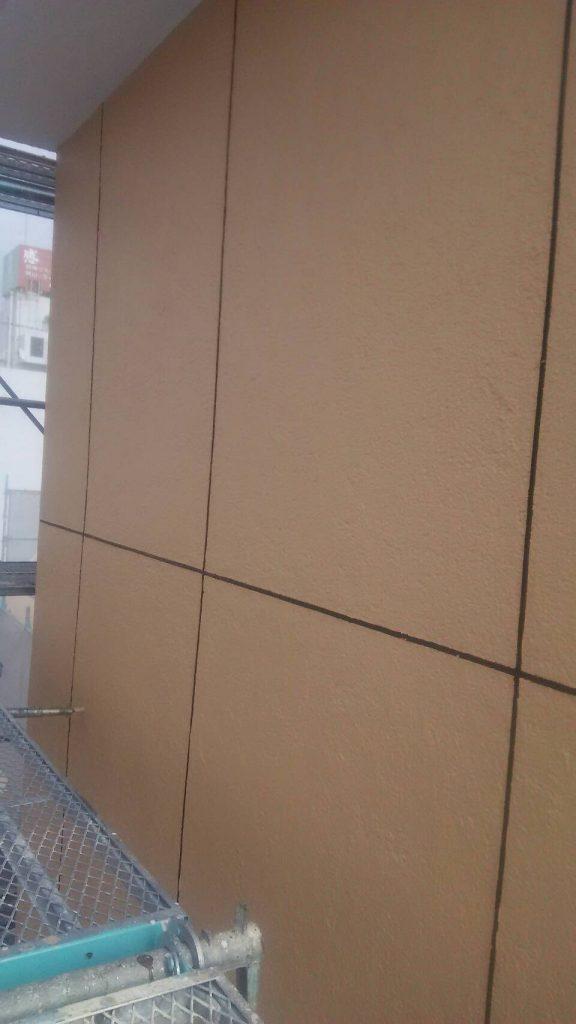 岡山市某ビジネスホテル上塗り完了