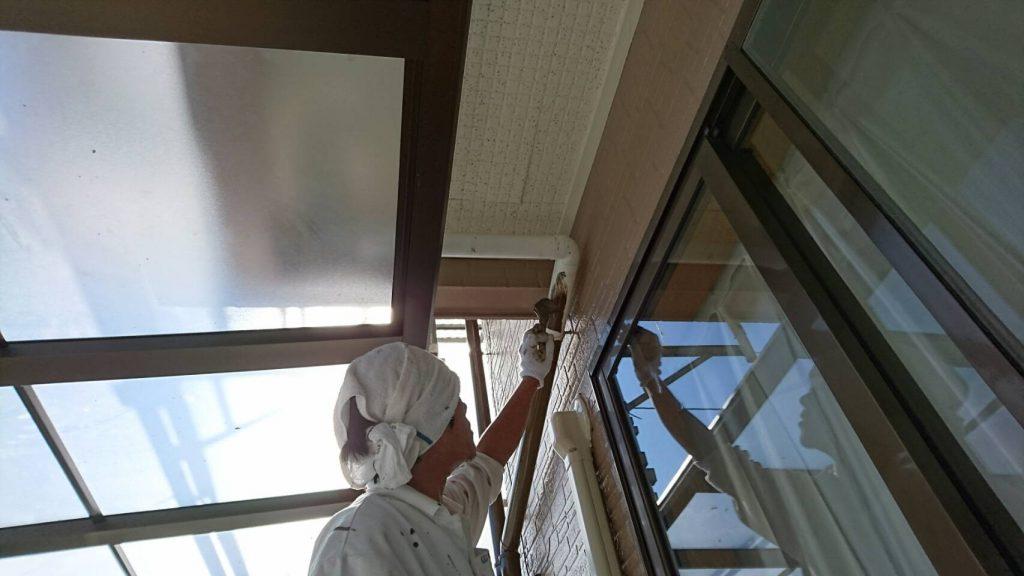 岡山県瀬戸内市M様邸 雨樋塗装