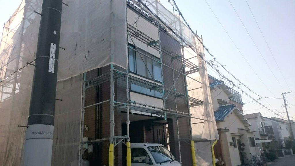 広島市S様邸 外壁塗装後