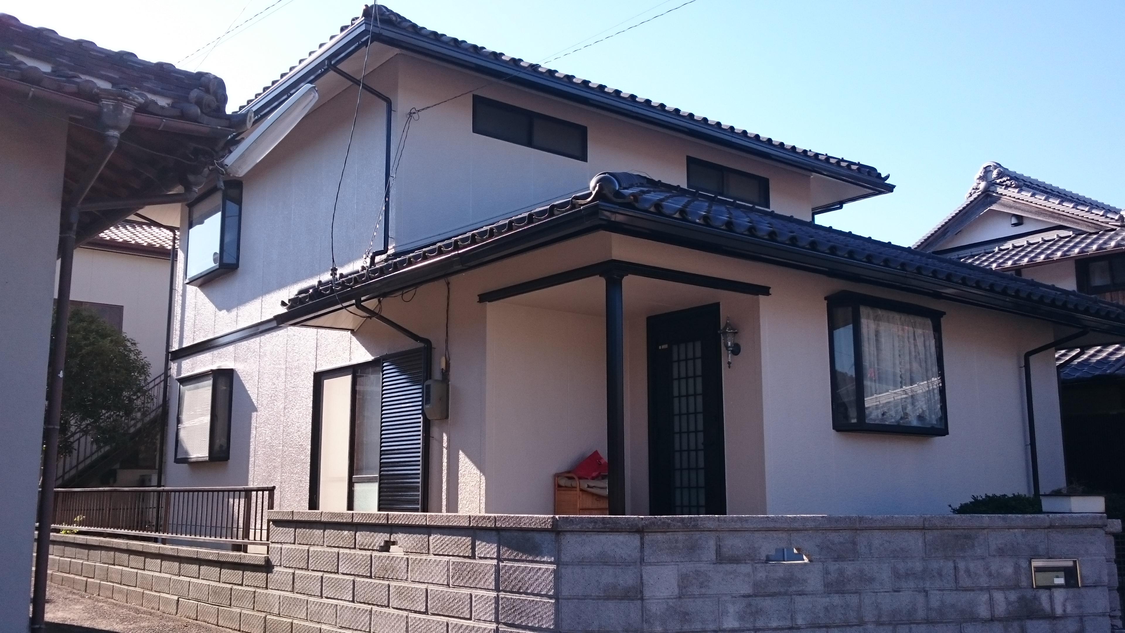 岡山県和気郡和気町O様邸 外壁塗装後