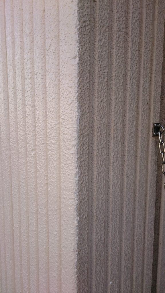 岡山市 某グループホーム 1階柱塗装