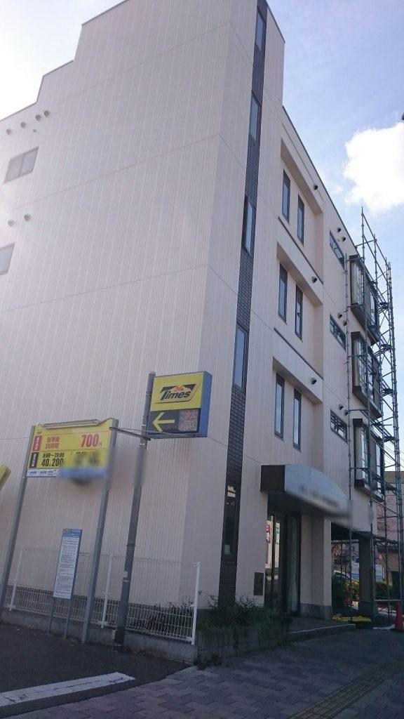 岡山市 某グループホーム 足場解体
