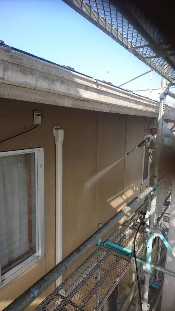 岡山市北区S様邸 高圧洗浄