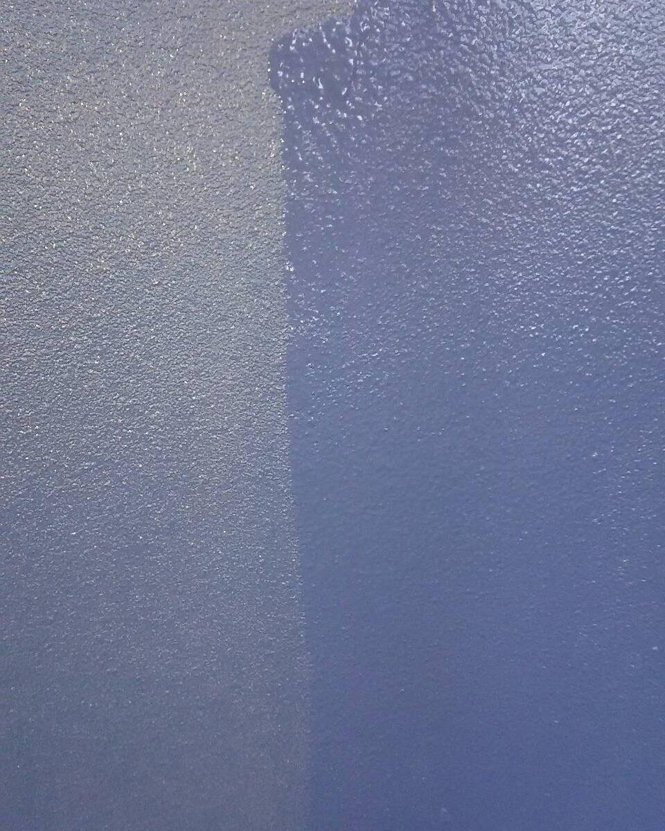 岡山市北区S様邸 外壁塗装上塗り