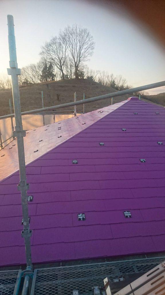 岡山市北区S様邸 屋根塗装クリア仕上げ