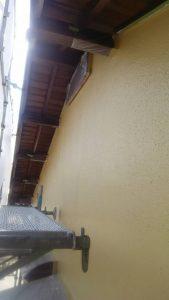 倉敷市N様邸 塗装現場(外壁) 上塗り作業