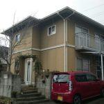 岡山市北区S様邸 外壁屋根塗装 施工前