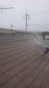 岡山市北区K様邸 屋根高圧洗浄