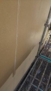 岡山市北区K様邸 外壁シーラー塗り