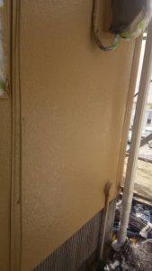 岡山市北区K様邸 外壁塗装上塗り