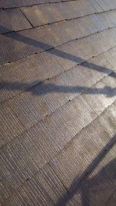 岡山市北区K様邸 屋根シーラー塗り2回目