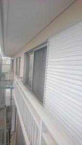 岡山市北区K様邸 外壁塗装後 雨戸
