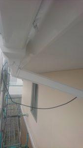 岡山市北区K様邸 外壁塗装後 雨樋