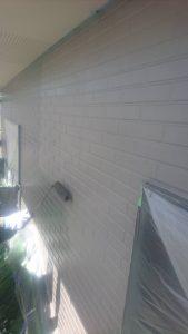 岡山市北区K様邸 外壁上塗り