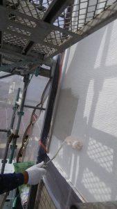 岡山市中区O様邸 サイディングボード用フィーラー塗り