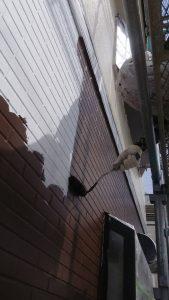 岡山市中区O様邸 1階部分中塗り