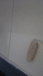 岡山市中区O様邸 2階部分上塗り