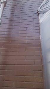 岡山市中区O様邸 1階部分上塗り