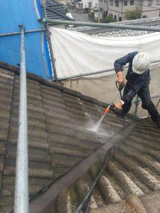 岡山市東区J様邸 高圧洗浄