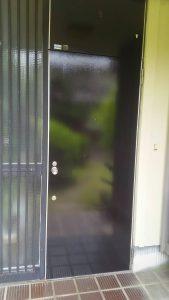 岡山市東区I様邸 ドア塗装 施工後