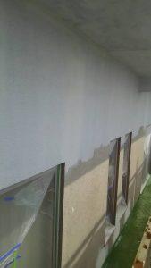 岡山市中区H様邸 下塗りフィラー