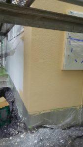 岡山市中区H様邸 外壁中塗り