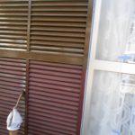 岡山市東区T様邸 塗装現場 戸袋塗装