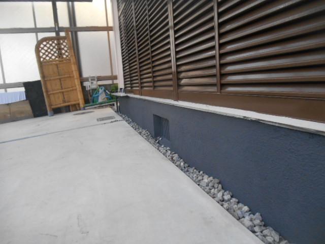 岡山市東区T様邸 塗装現場 塗装後