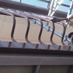 岡山市東区T様邸 塗装現場 面格子塗装