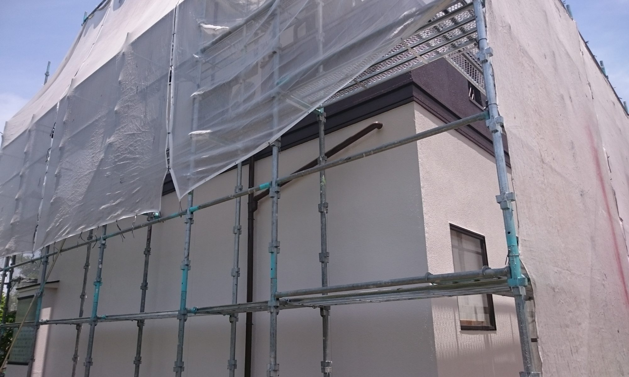 岡山市南区O様邸 外壁 塗装後