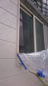 岡山市中区A様邸 塗装後 養生取り