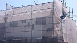 岡山市東区J様邸 屋根中塗り