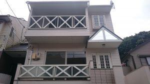 岡山市中区A様邸 塗装工事 施工後