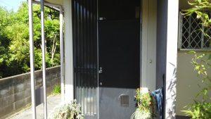 岡山市東区I様邸 ドア塗装 施工前