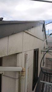 岡山市東区K様邸 外壁・屋根高圧洗浄 右面
