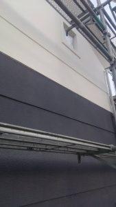 岡山市北区K.I様邸 外壁中塗り完了