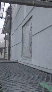 岡山市北区K.I様邸 下塗り2層目段階