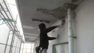 2018.10.24岡山市北区某ビル様外壁塗装工事