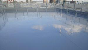 2018.10.24岡山市北区某ビル様屋上防水施工完了