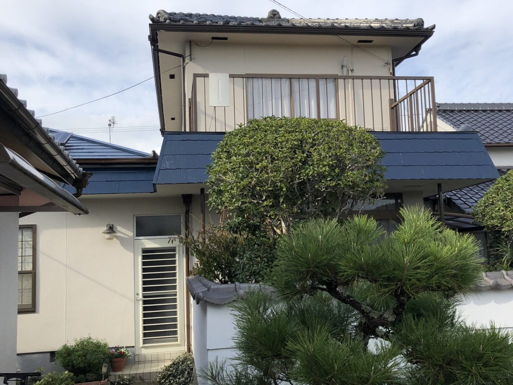 岡山市北区K.S様邸 屋根・外壁塗装工事 施工完了後