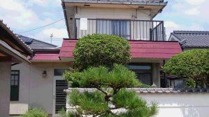 岡山市北区K.S様邸屋根・外壁塗装工事 施工前