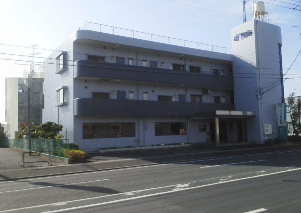 岡山市北区某ビル様 外壁塗装工事 施工完了後